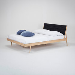Fawn bed | 180x200 | webbing | Sommiers / Cadres de lit | Gazzda