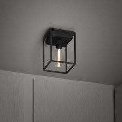 Caged Ceiling 1.0 Medium | Satin Black Marble | Lampade plafoniere | Buster + Punch
