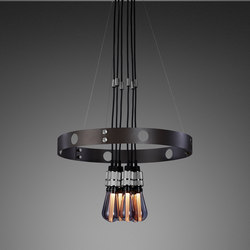 Hero Light | Graphite | Steel | Suspended lights | Buster + Punch
