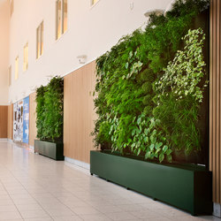Indoor Vertical Garden | Body Shop Nacka Forum | Plant pots | Greenworks