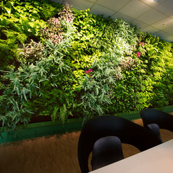 Indoor Vertical Garden | Preem Head office | Pots de fleurs | Greenworks