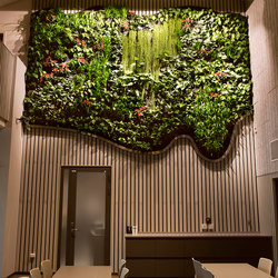 Indoor Vertical Garden | Tekniska Museet | Living / Green walls | Greenworks