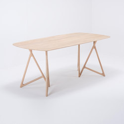 Koza table | 180x90 | oak | Mesas comedor | Gazzda