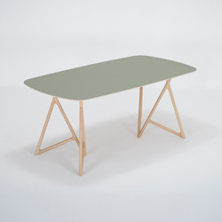 Koza table | 180x90x75 | linoleum | Tables de repas | Gazzda