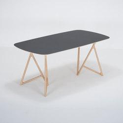 Koza table   180x90   linoleum   Mesas comedor   Gazzda