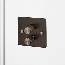 Electricity | 2G Dimmer | Smoked Bronze | Rotary dimmers | Buster + Punch