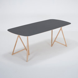 Koza table | 200x90x75 | linoleum | Tables de repas | Gazzda