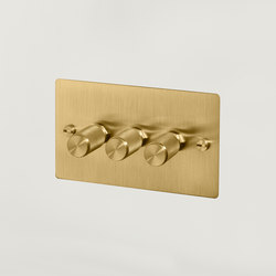 Electricity | 3G Dimmer | Brass | Dimmer manopola | Buster + Punch