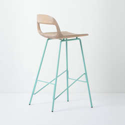 Leina bar chair | regular | 46,5x48,5x94 | Barhocker | Gazzda