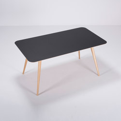 Linn table | 160x90x75 | Mesas comedor | Gazzda