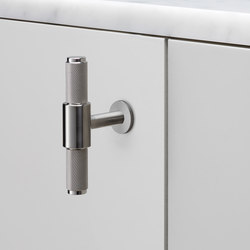 T Bar | Nude | Steel | Cabinet handles | Buster + Punch