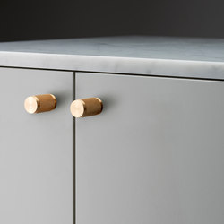Furniturer Knob | Brass | Cabinet knobs | Buster + Punch