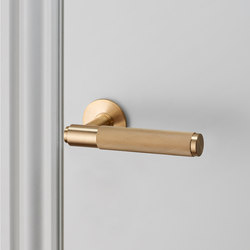 Door Lever Handle | Brass | Lever handles | Buster + Punch