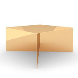 TAVOLO IV edizione speciale - Oro | Tavoli contract | Rechteck