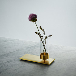 Machined | Vase | Brass | Vases | Buster + Punch