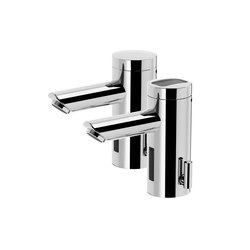 Lino lavatory faucet L30, with IR-Sensor, pressureless - mains operation | Wash basin taps | CONTI+