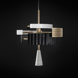 Wallie Chandelier | Suspended lights | Tato