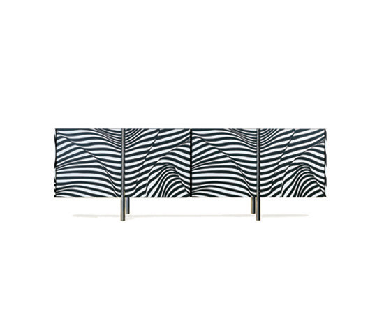 WOGG AMOR Stripe Sideboard by WOGG | Sideboards