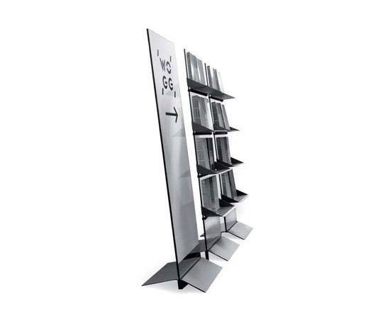 WOGG TARO Self-Standing Shelf Unit de WOGG | Revisteros
