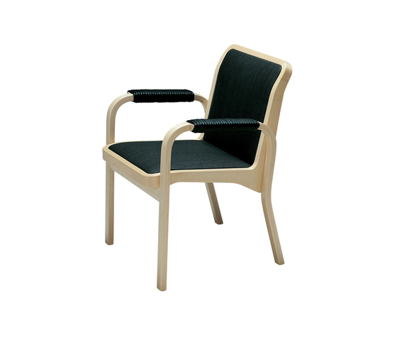 Armchair E45 by Artek | Restaurant chairs