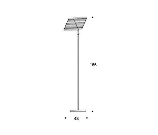 Floor Lamp A810 von Artek | Allgemeinbeleuchtung