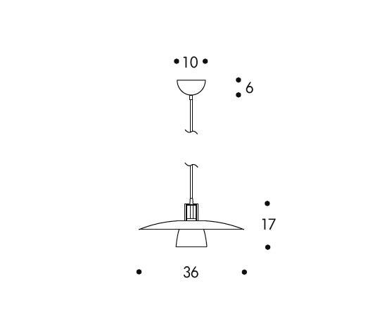 Pendant Lamp JL340 by Artek   General lighting