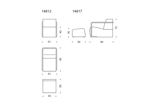 AK04 by Wittmann | Armchairs