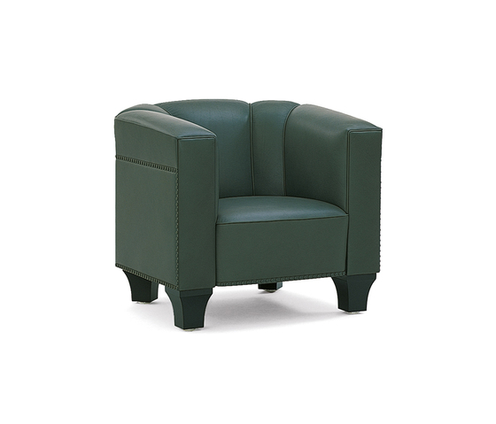 Palais Stoclet Armchair by Wittmann | Lounge chairs