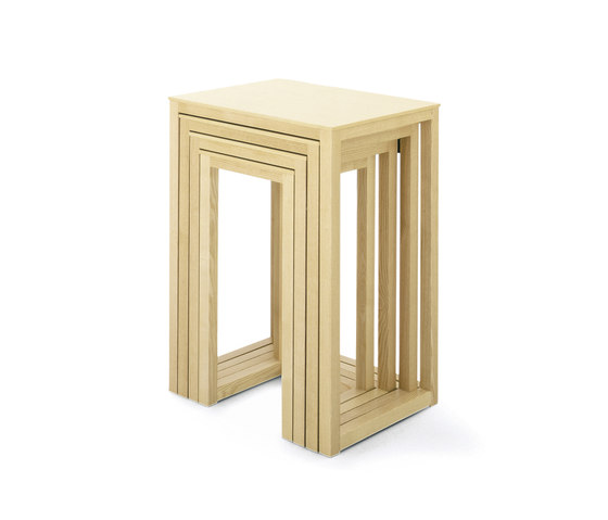 Hoffmann Nesting Tables by Wittmann | Side tables