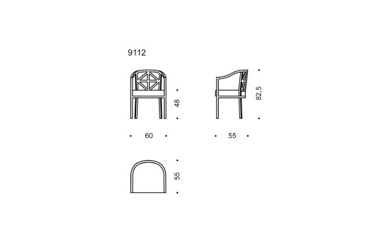Villa Ast by Wittmann | Chairs