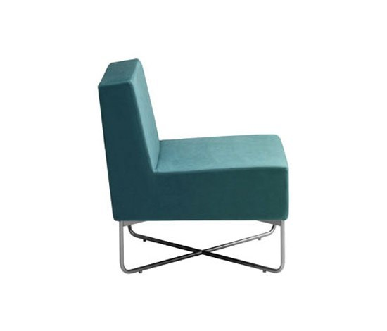 Havanna sectional easy chair de Swedese | Éléments de sièges modulables