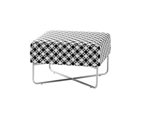 Havanna sectional stool by Swedese | Poufs