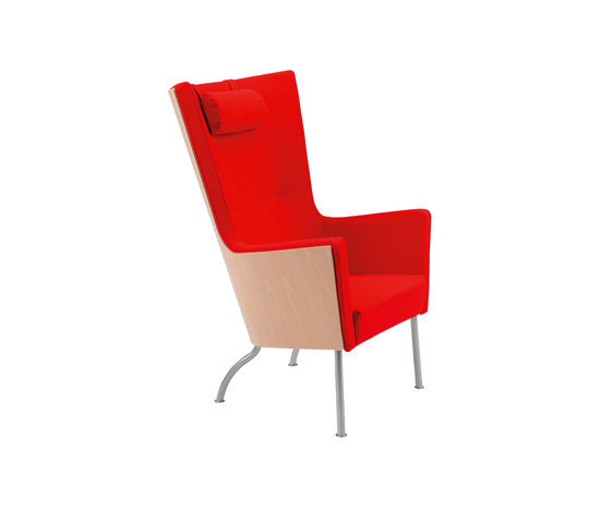 Solino easy chair high back by Swedese | Lounge chairs