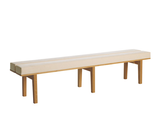 Kamón Bench 373/374 by Karl Andersson | Waiting area benches
