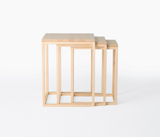 Trio 250 by Karl Andersson | Nesting tables