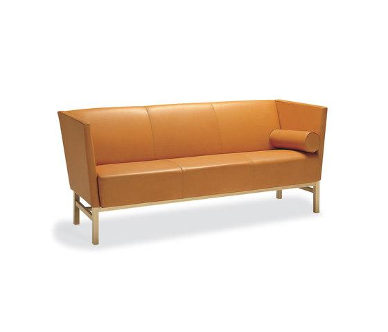Minimal 3-seater sofa by Materia | Lounge sofas