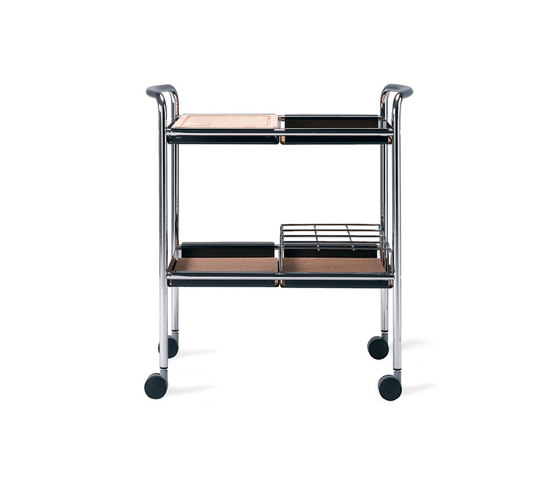 Supporter serving trolley by Materia | Tea-trolleys / Bar-trolleys