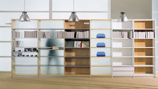 Cambridge by Acerbis | Office shelving systems