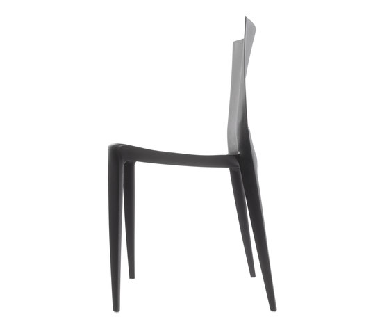 The Bellini Chair | Model 1000 | Black de Heller | Chaises polyvalentes