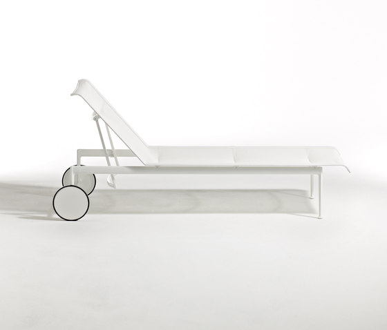 1966 Chaise longue réglable de Knoll International | Méridiennes de jardin