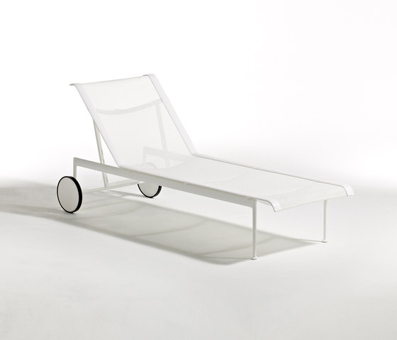 1966 Adjustable Chaise lounge by Knoll International | Sun loungers