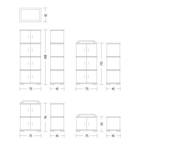 Rolladenschrank 1 by Röthlisberger Kollektion | Cabinets