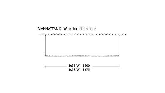 MANHATTAN D by Baltensweiler | Pendant strip lights