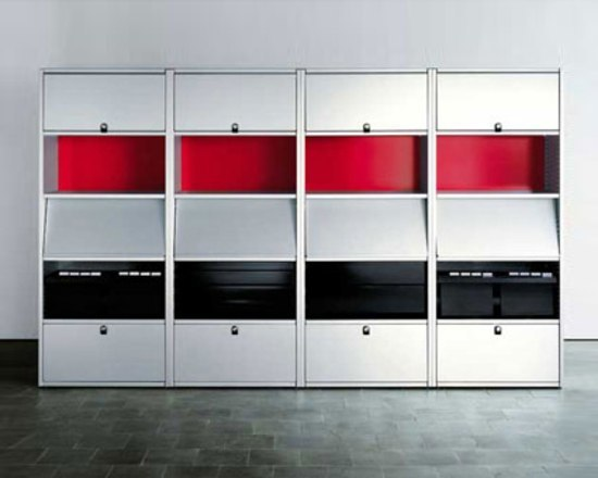 Offce shelves by Lehni | Office shelving systems