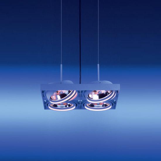 Cardan Quadrat von LFF Leuchten | Strahler