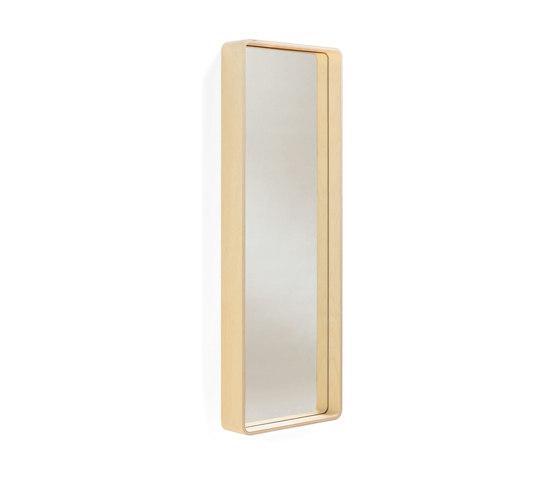 Kvadrat wall mirror by Materia   Mirrors