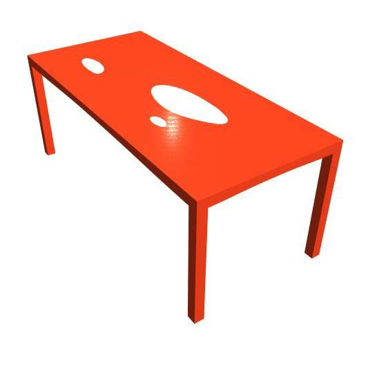 mTABLE #1 by M-SHAPE | Dining tables