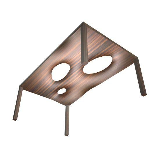 mTABLE #2 by M-SHAPE | Dining tables