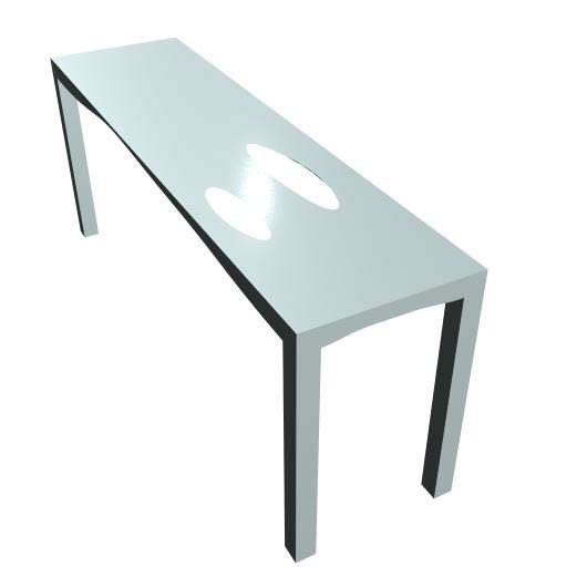 mTABLE #3 by M-SHAPE | Console tables