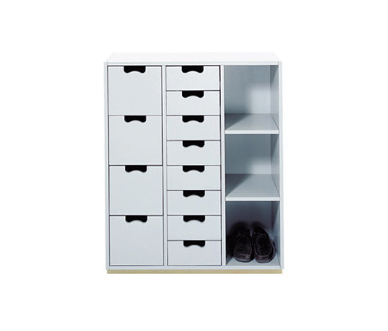 Snow Cabinet C by ASPLUND | Shoe cabinets / racks